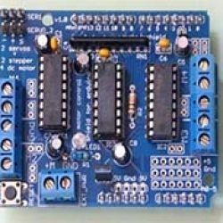 Module ĐK động cơ L293D